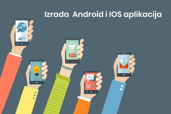 Izrada Android i IOS mobilnih aplikacija