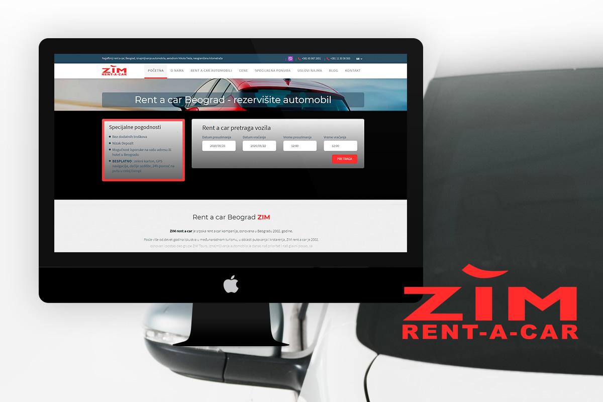 ZIM rent-a-car