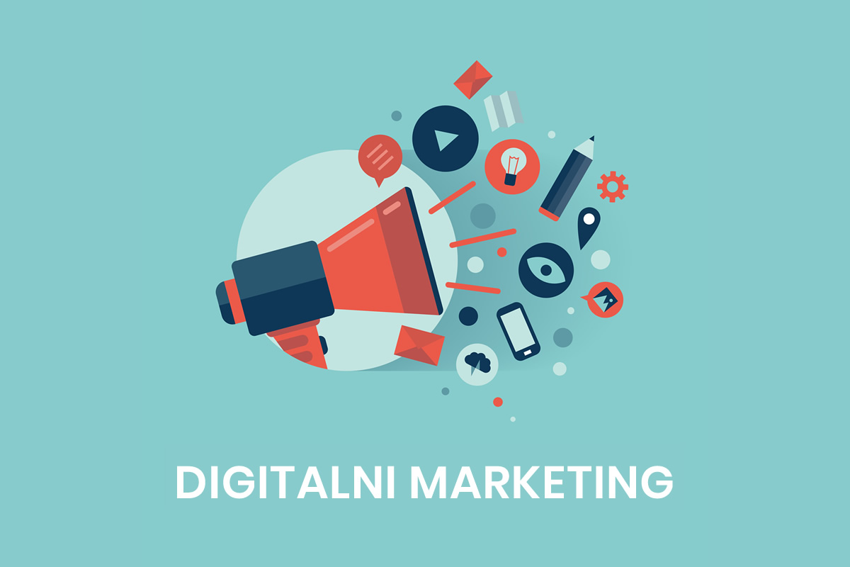 digitalni marketing vektor