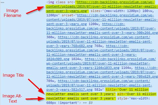 opisi slike html