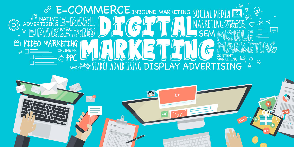 digital marketing vektor